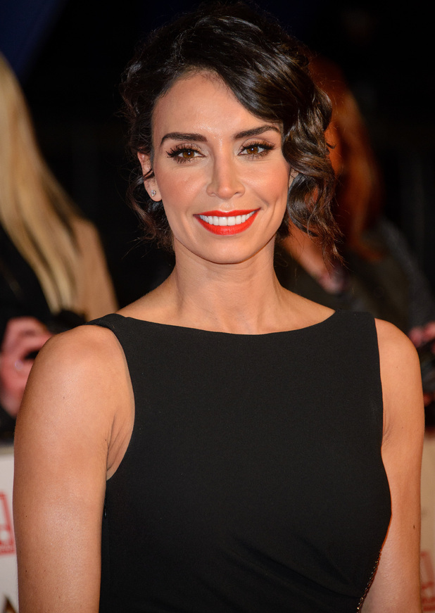 Christine Bleakley attends the National Television Awards 2015 in London, England - 21 January 2015