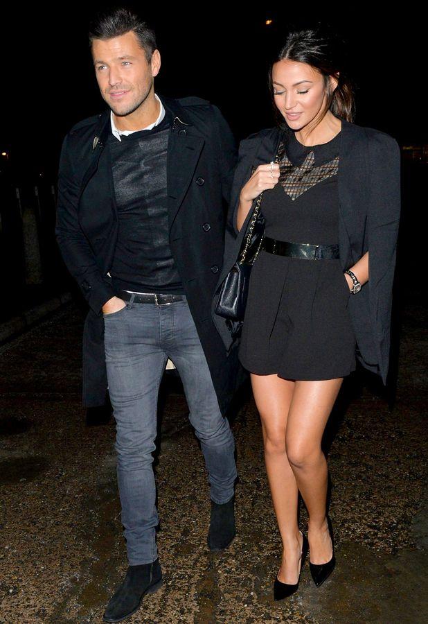 Mark Wright and Michelle Keegan at CTZN bar, Essex - 06 Feb 2015