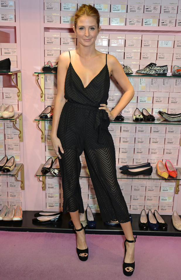 Millie Mackintosh attends the Pretty Ballerina's spring/summer '15 launch in London, England - 4 February 2015