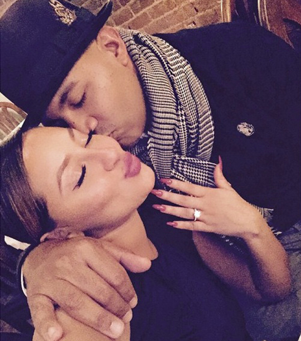 Adrienne Bailon announces her engagement, 2015