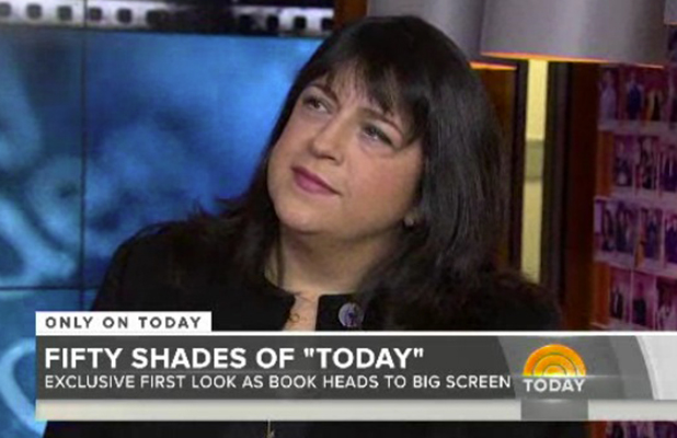 E.L. James appears on Today Show to talk about Fifty Shades of Grey, 5 February 2015