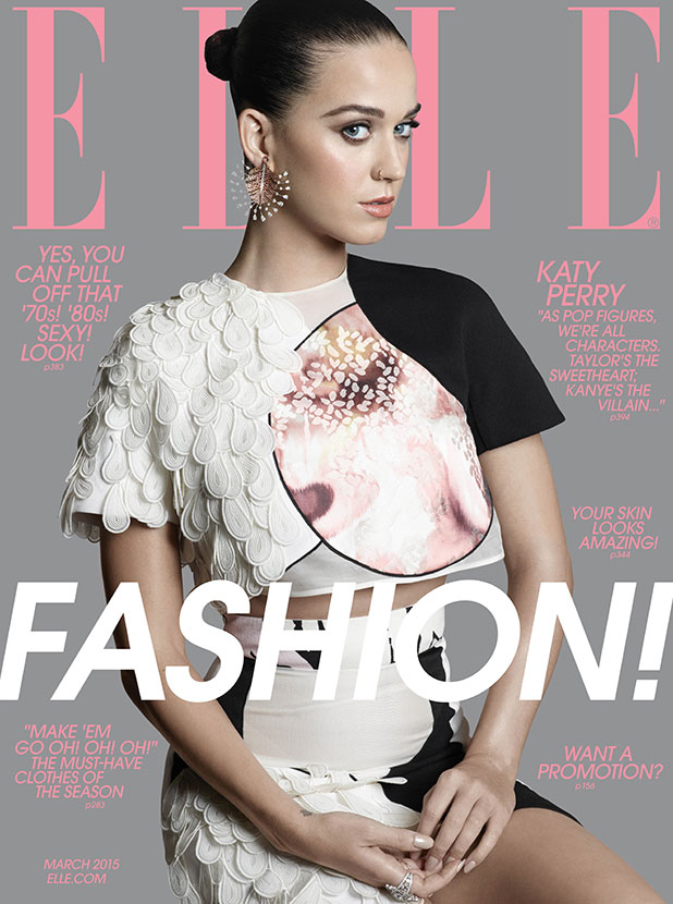Katy Perry is on the cover of ELLE's March issue – hitting newsstands nationwide on February 17.
