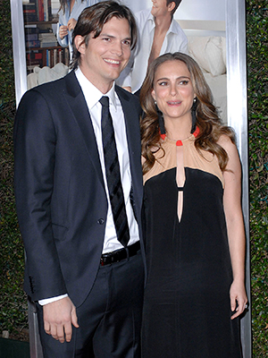 """Ashton Kutcher and Natalie Portman at LA premiere of """"No Strings Attached"""" held at the Regency Village Theatre Los Angeles, California - 11.01.11"""