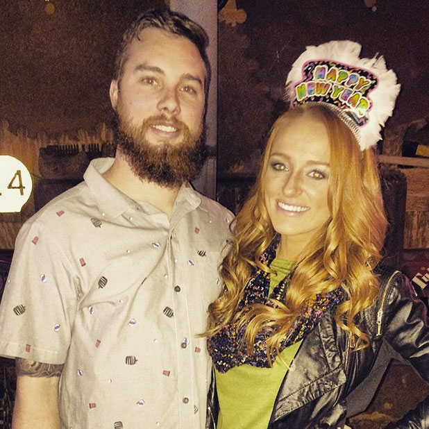 Teen Mom's Maci Bookout and boyfriend Taylor McKinney, January 2015