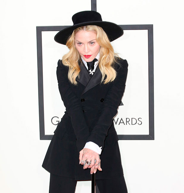 Madonna, The 2014 Grammy Awards held at The Staples Center in Los Angeles.
