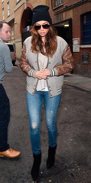 Nicole Scherzinger arrives at the London Palladium ahead of Cats performance, 4 February 2015