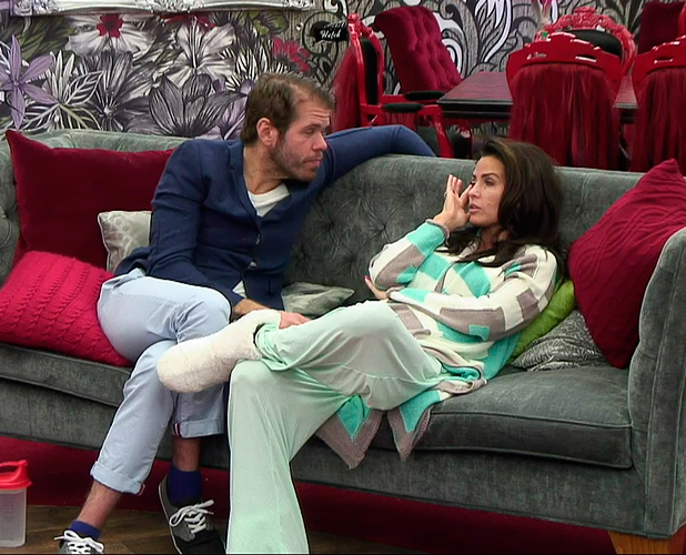 CBB: Perez Hilton and Katie Price talk in the house, January 2015