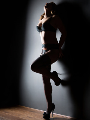 The Fifty Shades of Grey effect - Photo Nottingham boudoir shoot