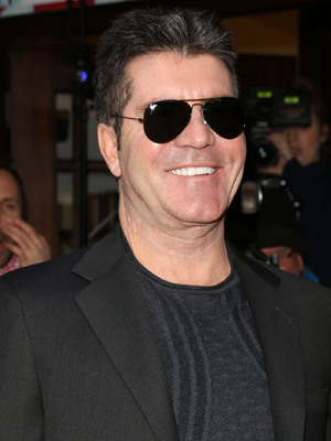 Simon Cowell arrives for Britain's Got Talent auditions in London 11 February