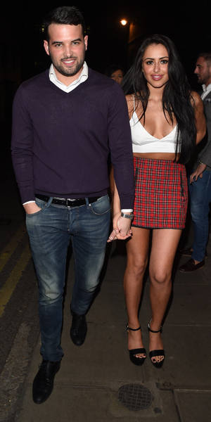 Ricky Rayment and Marnie Simpson, Cafe De Paris, London 7 February
