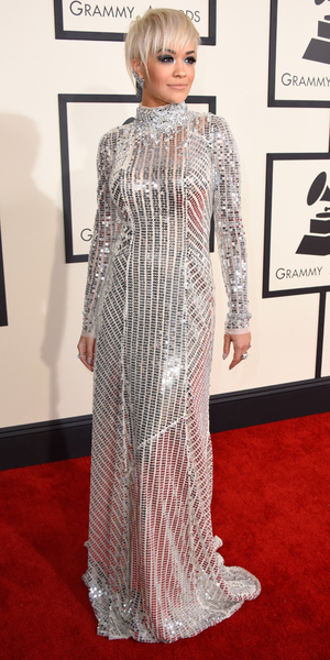 Rita Ora, Grammy Awards 2015, LA 8 February