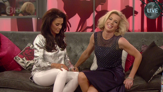 Katie Price and Katie Hopkins -  'Celebrity Big Brother' final. 02/06/2015