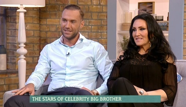 Calum Best and Michelle Visage on This Morning, ITV studio, London 9 February