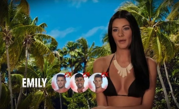 Emily Colley on Ex On The Beach 10 February