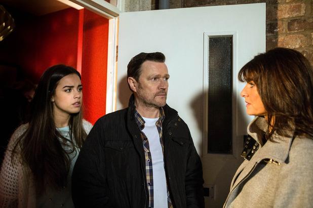 Corrie, Linda talks to Katy, Wed 11 Feb