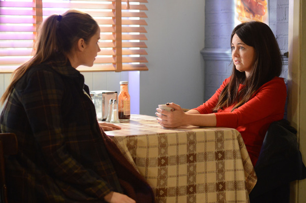EastEnders, Lauren tells Stacey she knows who killed Lucy. Thu 12 Feb