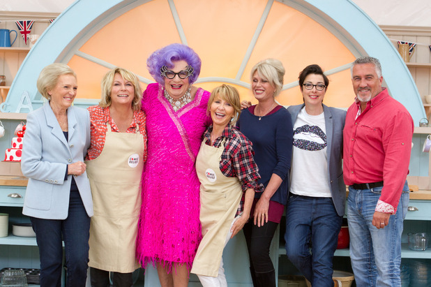 The Great Comic Relief Bake Off, BBC1, Wed 11 Feb
