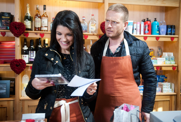 Emmerdale, Alicia gets an unexpected gift, Mon 16 Feb
