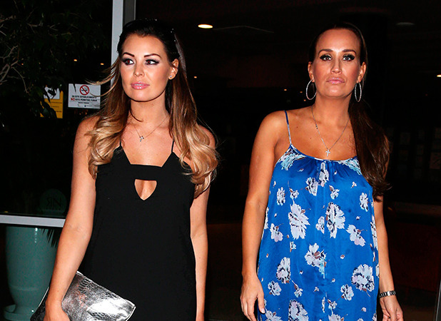 'The Only Way is Essex' Cast in Tenerife, Spain - 09 Feb 2015 Jessica Wright and Leah Wright