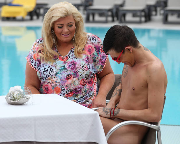 Gemma Collins and Bobby Norris in Tenerife, TOWIE 10 February