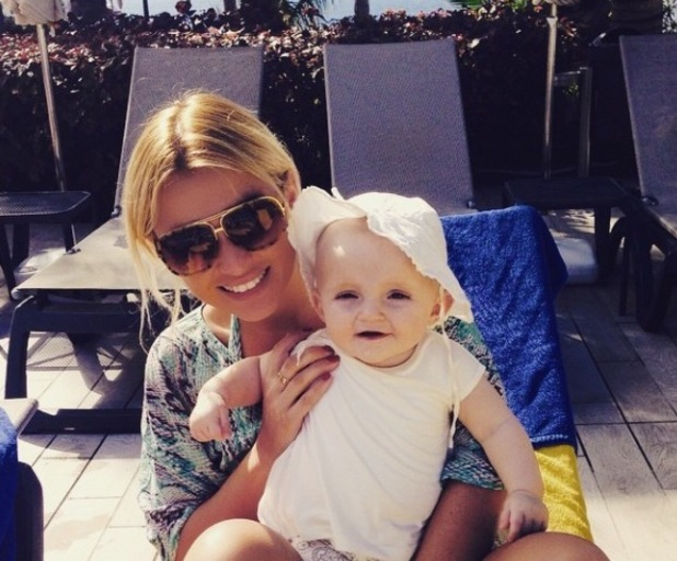 TOWIE's Billie Faiers and Nelly pictured during filming break in Tenerife - 13 Feb 2015