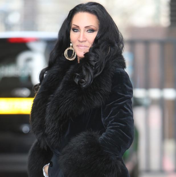 Michelle Visage outside ITV studios, London 9 February