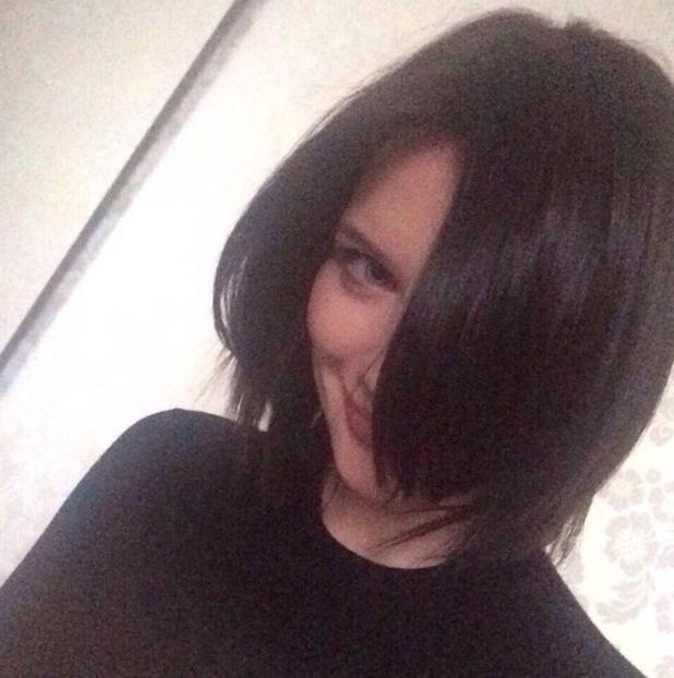 Helen Flanagan shows off new brunette hair - 10 Feb 2015
