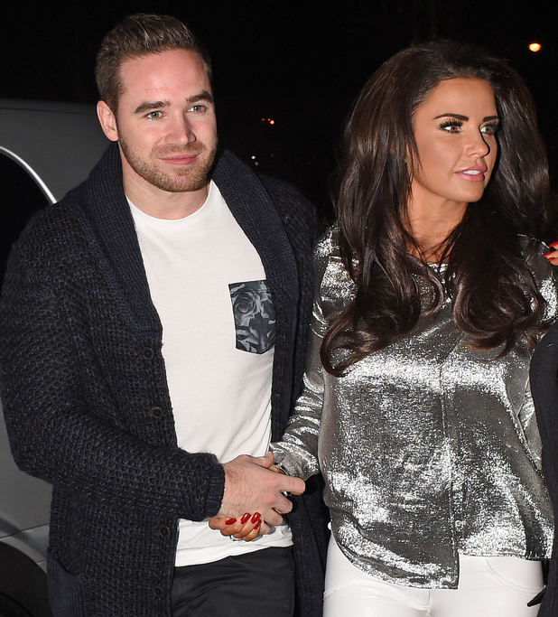 Celebrity Big Brother' winner, Katie Price and her husband Kieran Hayler out and about in London, celebrating her win. 02/07/2015 London, United Kingdom
