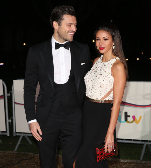 Mark and Michelle at The Sun Military Awards (Millies) 2014 - Arrivals - 12/10/2014.