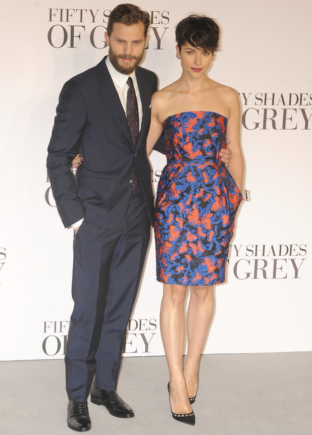 Jamie Dornan and Amelia Walker at Fifty Shades of Grey' UK premiere at the Odeon Leicester Square - 12 Feb 2015