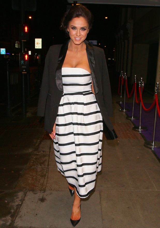 Vicky Pattison pictured out in London 29 January