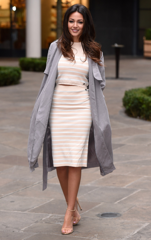 Michelle Keegan at the Lipsy launch for summer collection, Ham Yard Hotel, London 10 February