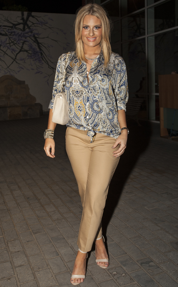 Danielle Armstrong out in Tenerife 12 February