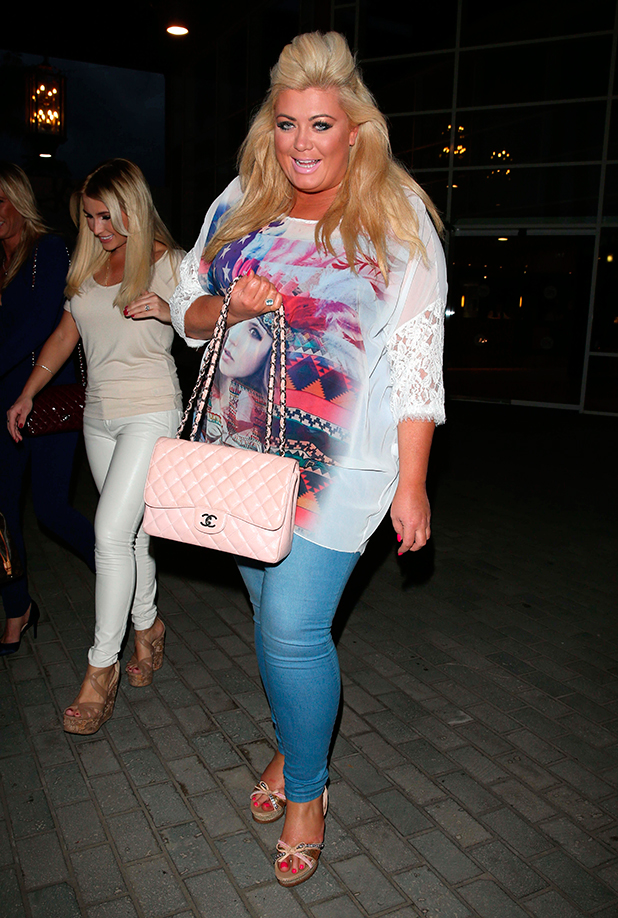 The Only Way is Essex' Cast in Tenerife, Spain - 10 Feb 2015 Gemma Collins