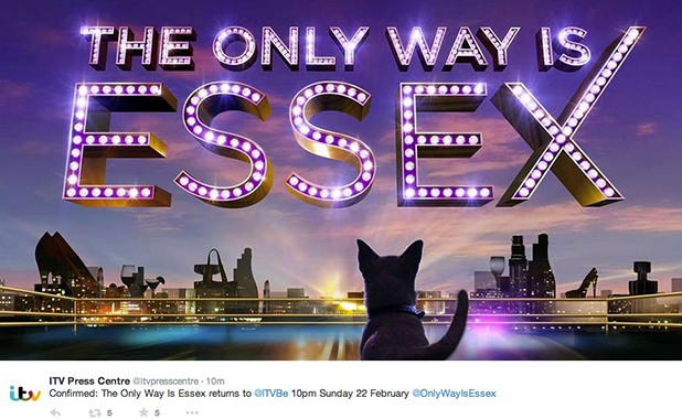 TOWIE confirms return date for 14th series, 22 February 2015