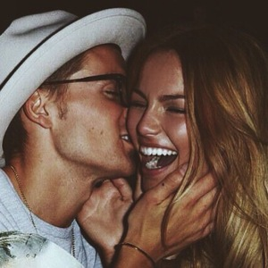 Oliver Proudlock wishes Emma Louise Connolly a happy Valentine's Day, Instagram 14 February