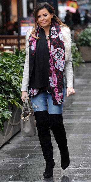 Jessica Wright at Global House for TOWIE promo, London 16 February