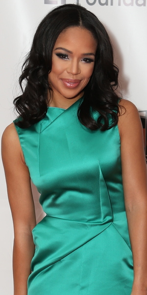 Sarah-Jane Crawford attends Screen Nation Film and Television Awards held at Hilton London Metropole 15 February