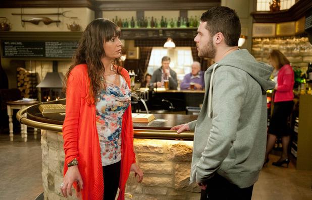Emmerdale, Chas is worried about Aaron, Fri 20 Feb