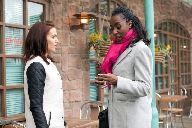 Hollyoaks, Cindy meets Simone, Fri 20 Feb