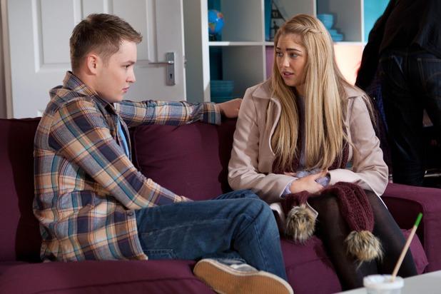 Hollyoaks, Jason in hospital, Tue 24 Feb