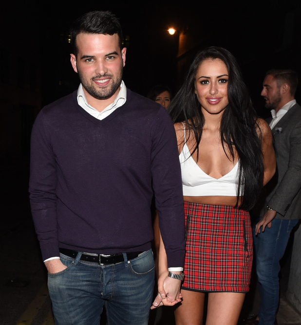 Ricky Rayment and Marnie Simpson enjoy a night out at Cafe De Paris in London - 8/2/2015.