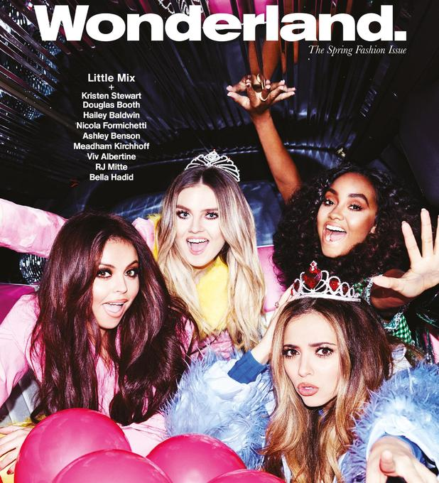 Little Mix appear in the Wonderland Magazine Spring Fashion issue - 17 Feb 2015