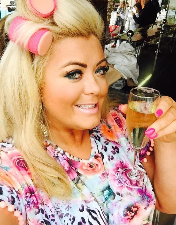 TOWIE's Gemma Collins in Tenerife - 10 February 2015.