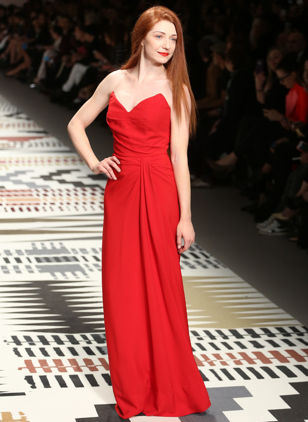 Nicola Roberts at LFW: Fashion For Relief charity fashion show - 19 February 2015