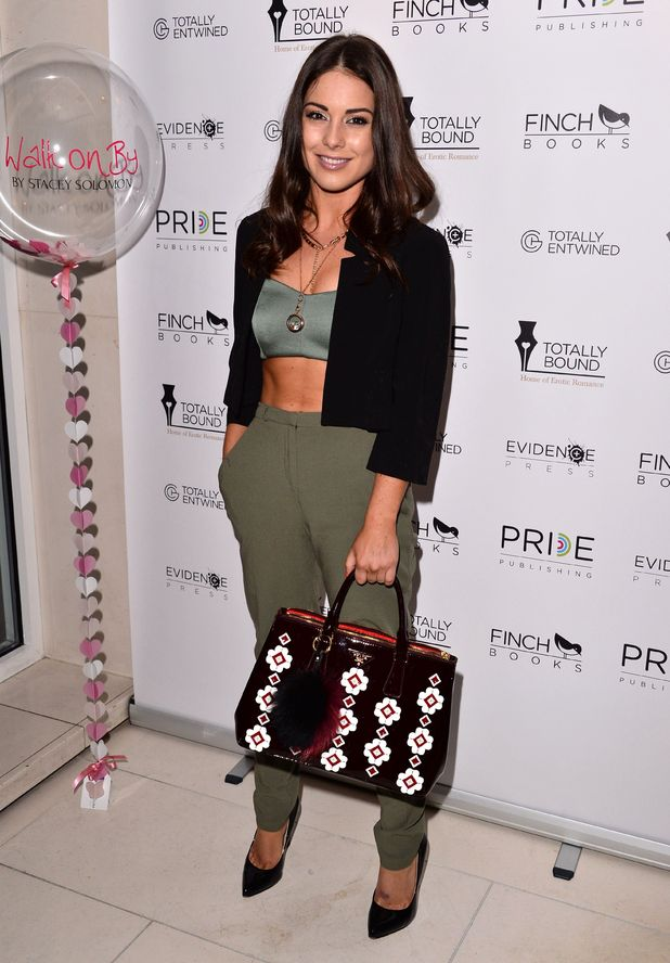 Louise Thompson attends Stacey Solomon's book launch, The Ivy, London