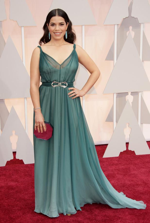 Reveal fashion: Oscars red carpet 2015