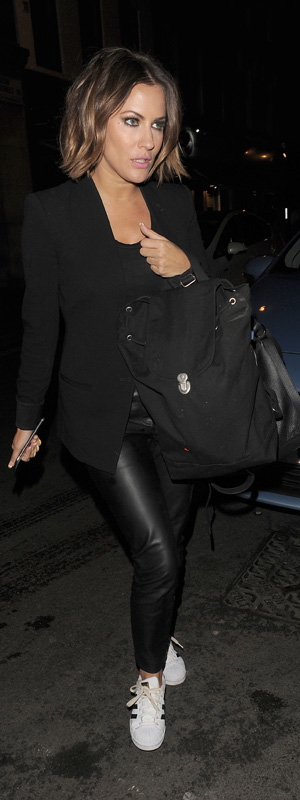 Caroline Flack in London on 8 January 2015