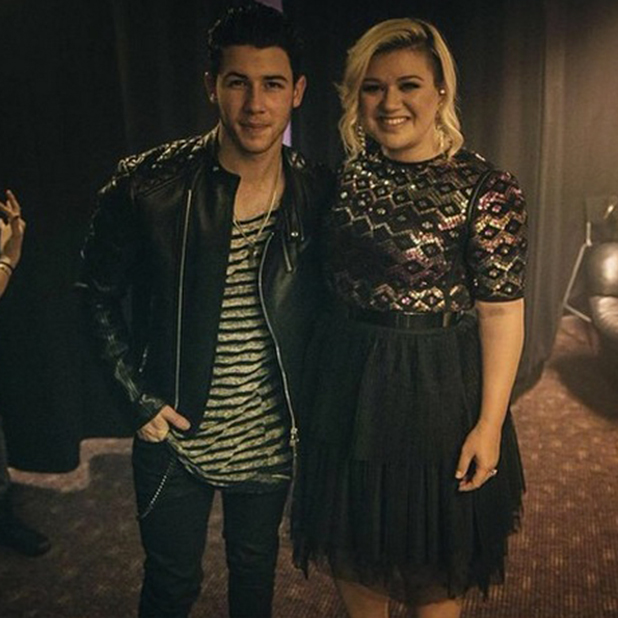 Kelly Clarkson and Nick Jonas at G-A-Y, 14 February 2015