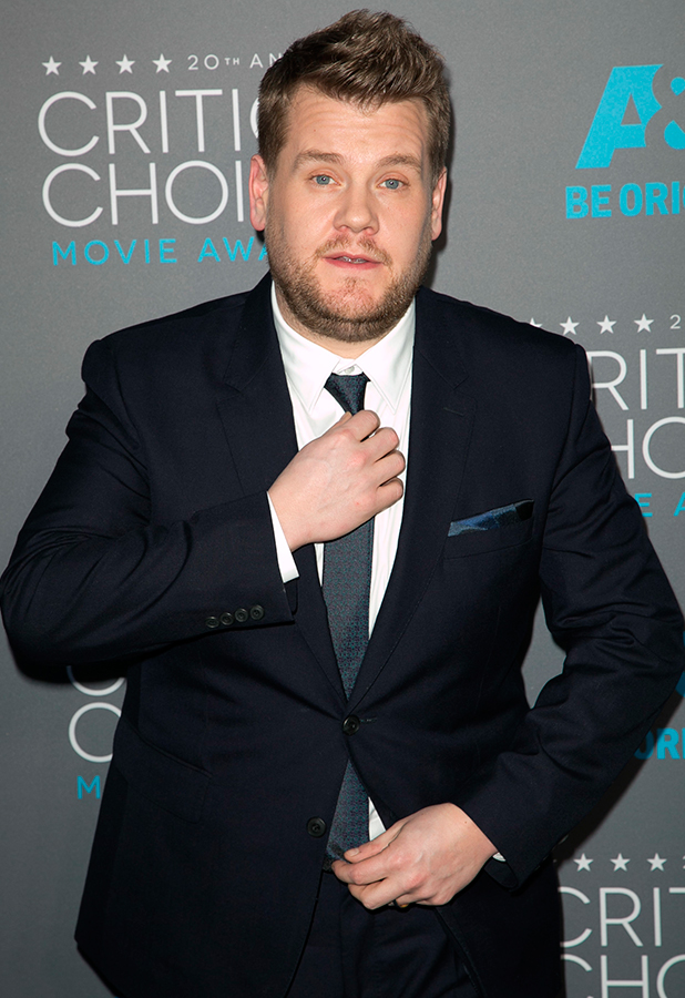 James Corden attends 20th Annual Critics' Choice Movie Awards - Arrivals at Hollywood Palladium, 2015